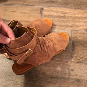 Summer bootie sandals!